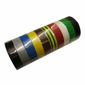 Banda izolatoare atestata multicolor 15x0.15mm / 10m